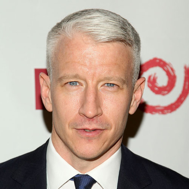 Anderson Cooper Gray Hair