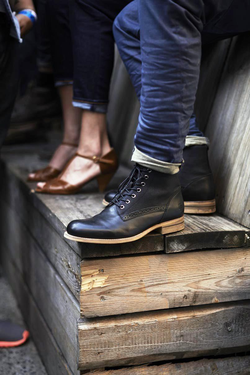 Black Men's Fashion Boots