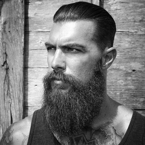Cool Long Hairstyles for Men with Beards