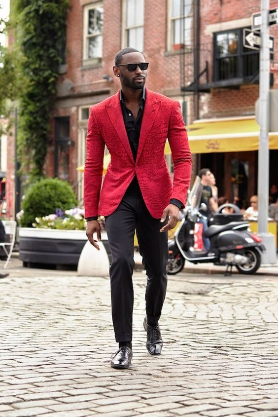 FASHIONABLE black MAN