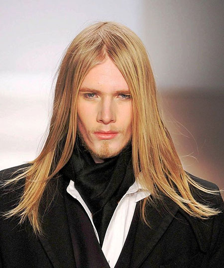 Hairstyles for Long Straight Hair Men