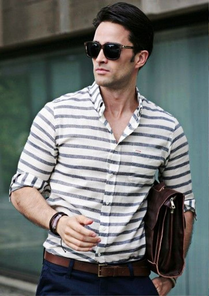 Horizontal Stripes for Men