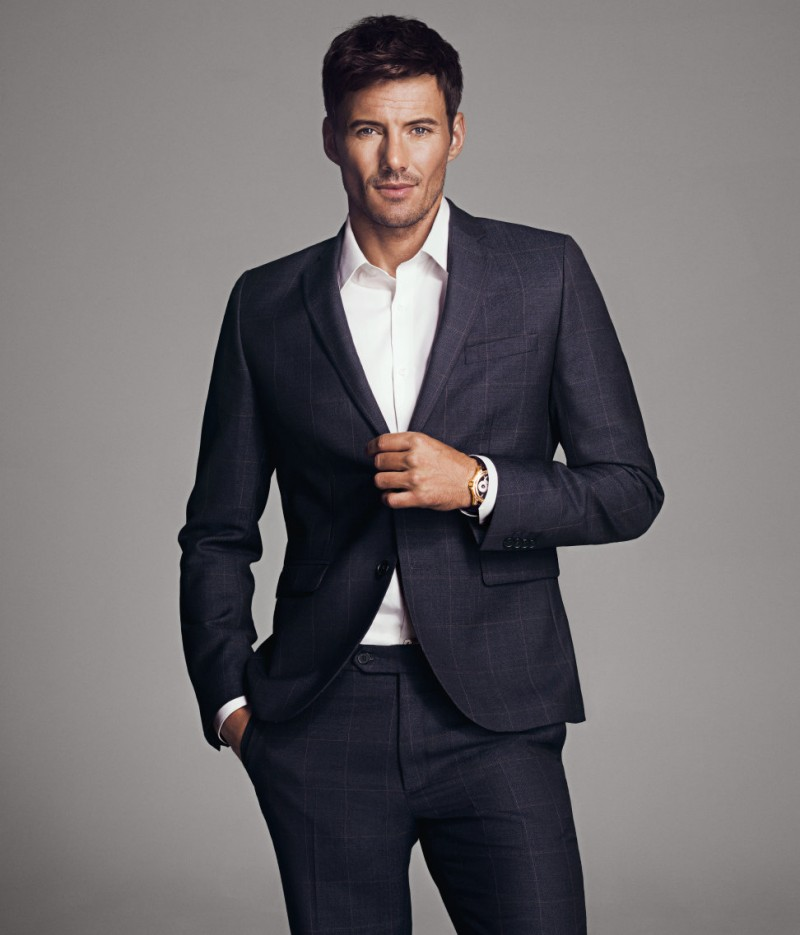 Male Models Suit Fashion