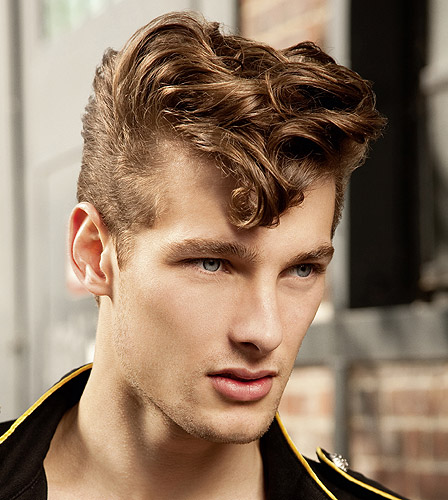 Men Wave Hair Style