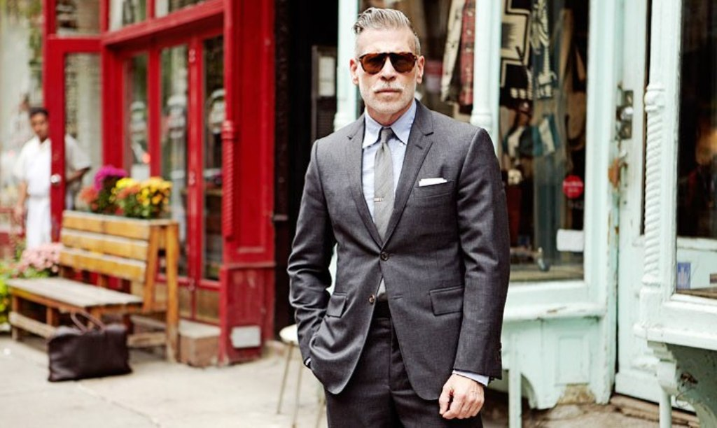 Nick Wooster Style in a Suit