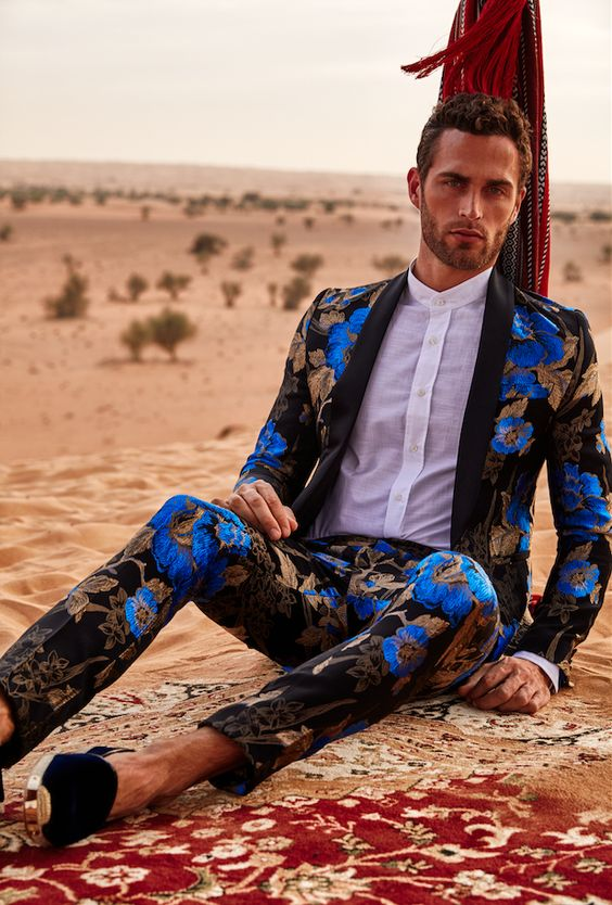 Prince of Persia Christian Santamaria for GQ Style Russia