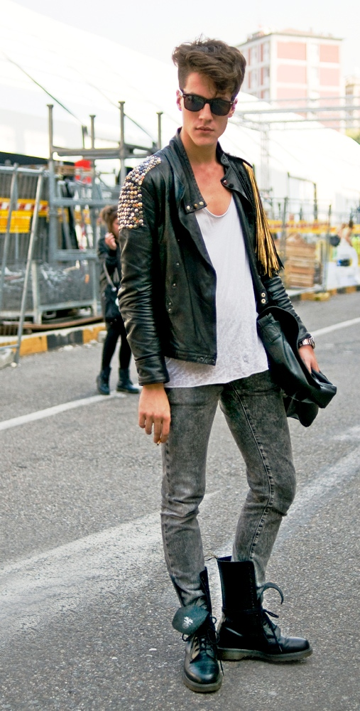 Rock and Roll Style Fashion Men