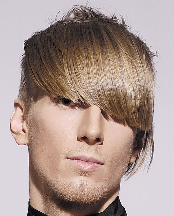 Side Fringe Hairstyles Men
