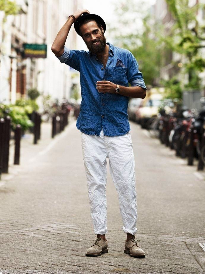 Street Styles and Men's fashion