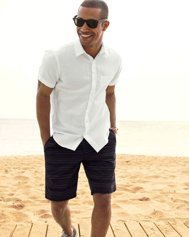 Summer Beach Wedding Men Fashion