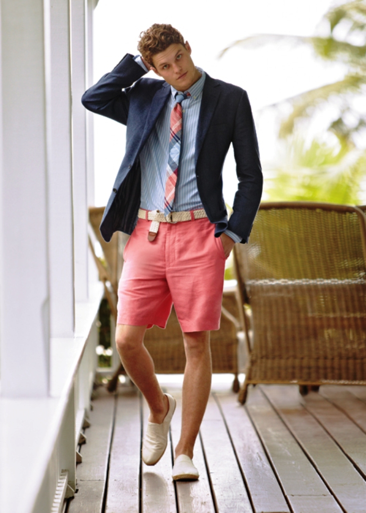 Summer Preppy Look Men