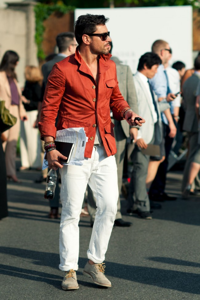 Summer Street Style Fashion Men