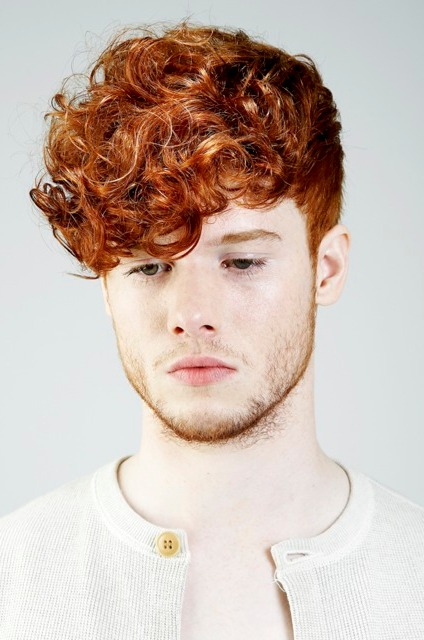 Undercut Hairstyle Men Curly Hair