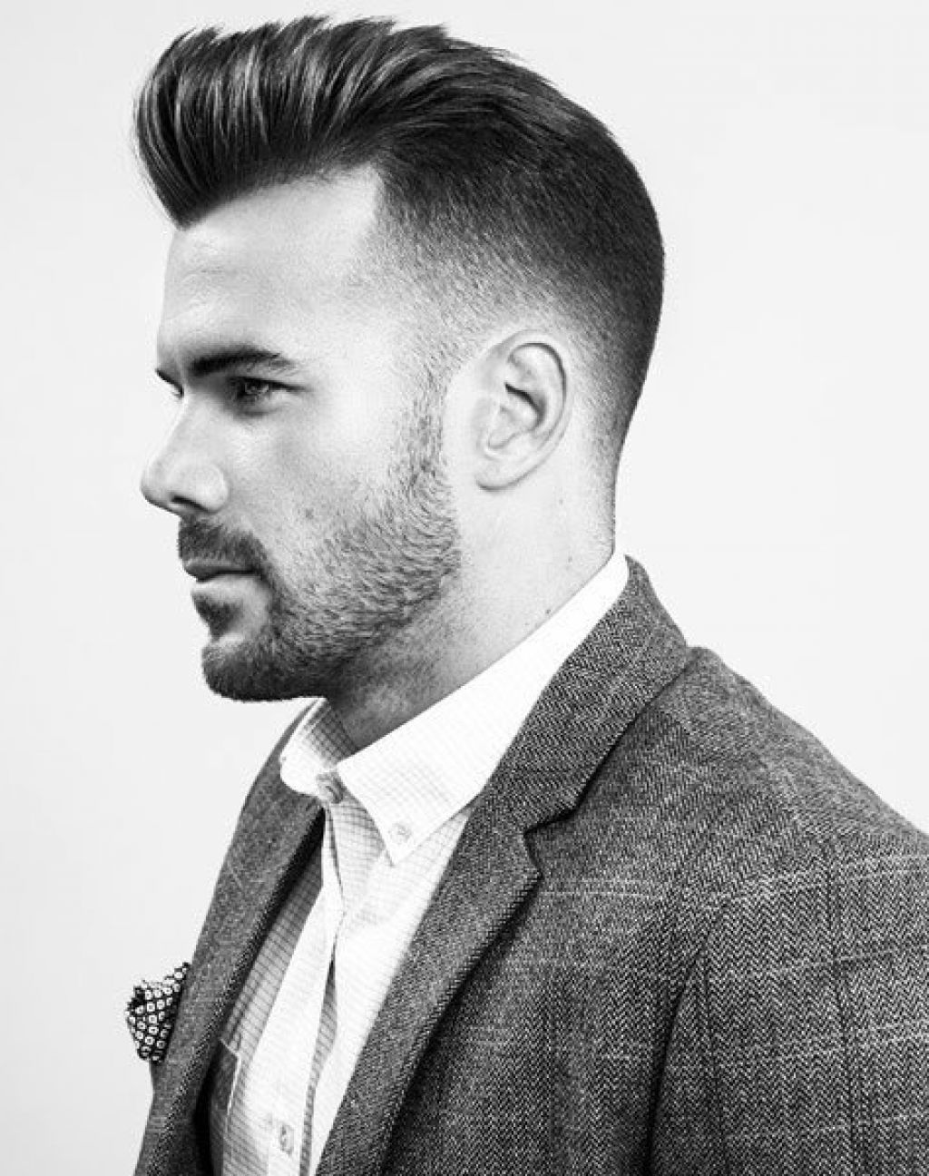 Various Pompadour Hairstyle Men 2016