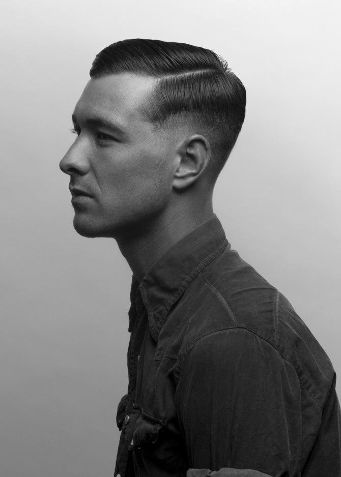 Vintage Haircut Mens