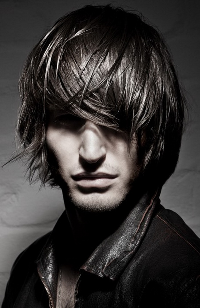 Young mens long hairstyles