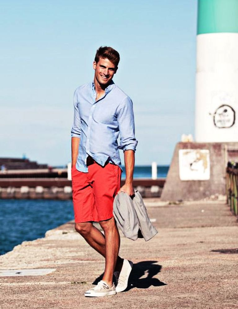 beach mens fashion