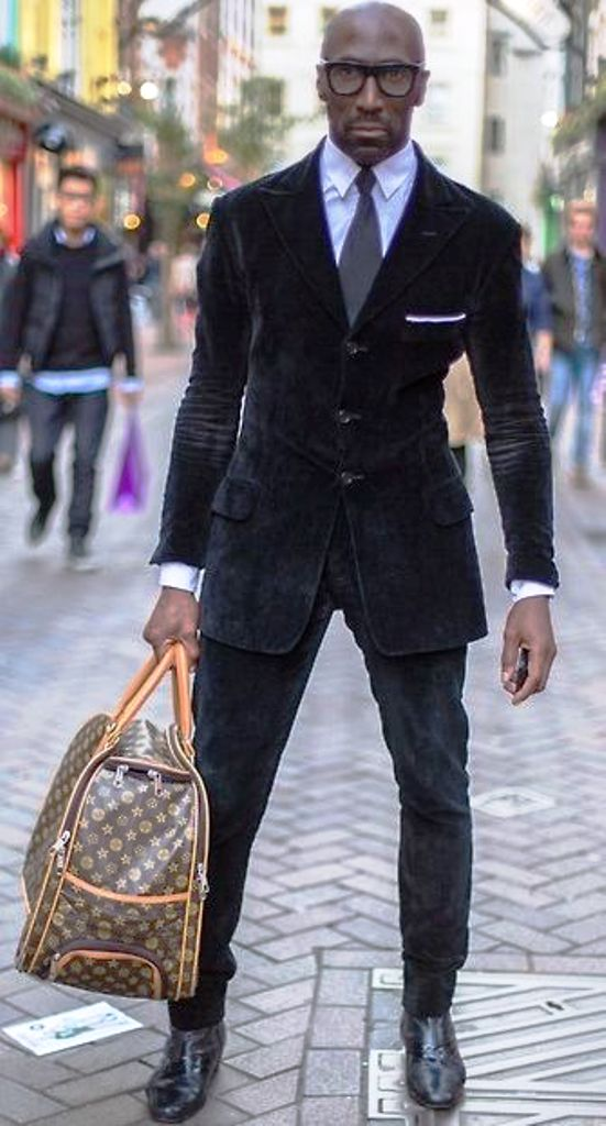 black mens street look 2016