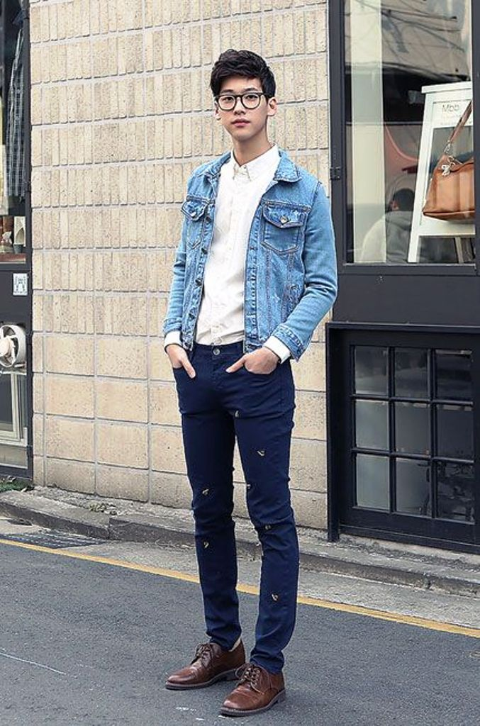 simple asian mens fashion
