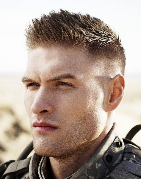 military hairstyles for men shorts