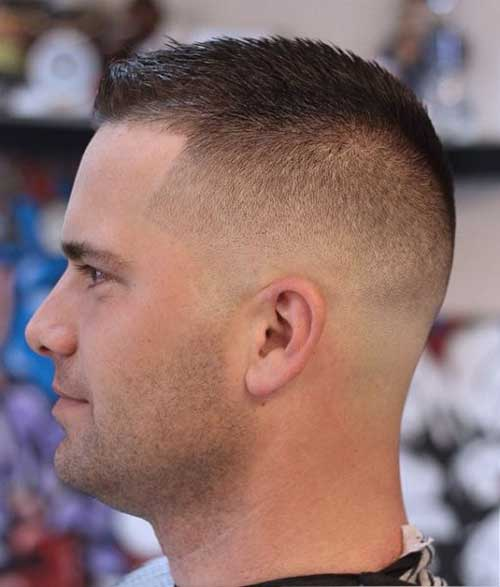 short hairstyles for men fade