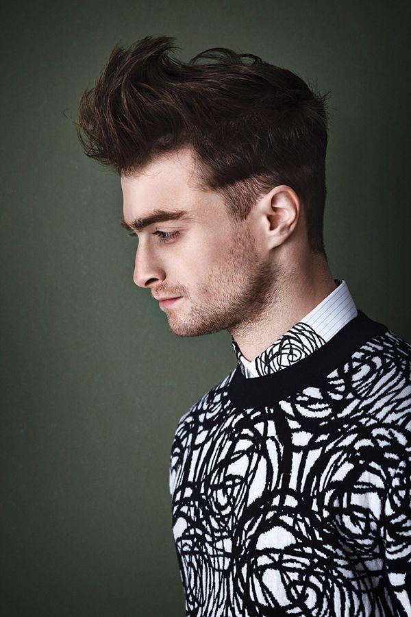 pompadour hairstyles for men medium