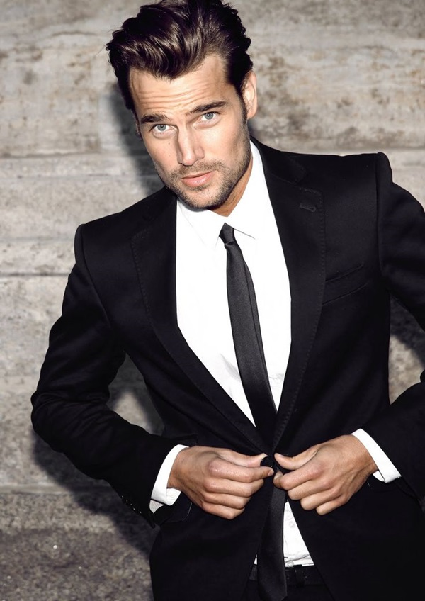 trendy hairstyles for men suits