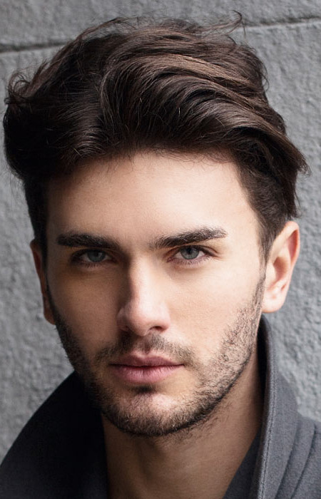 medium hairstyles for men beautiful