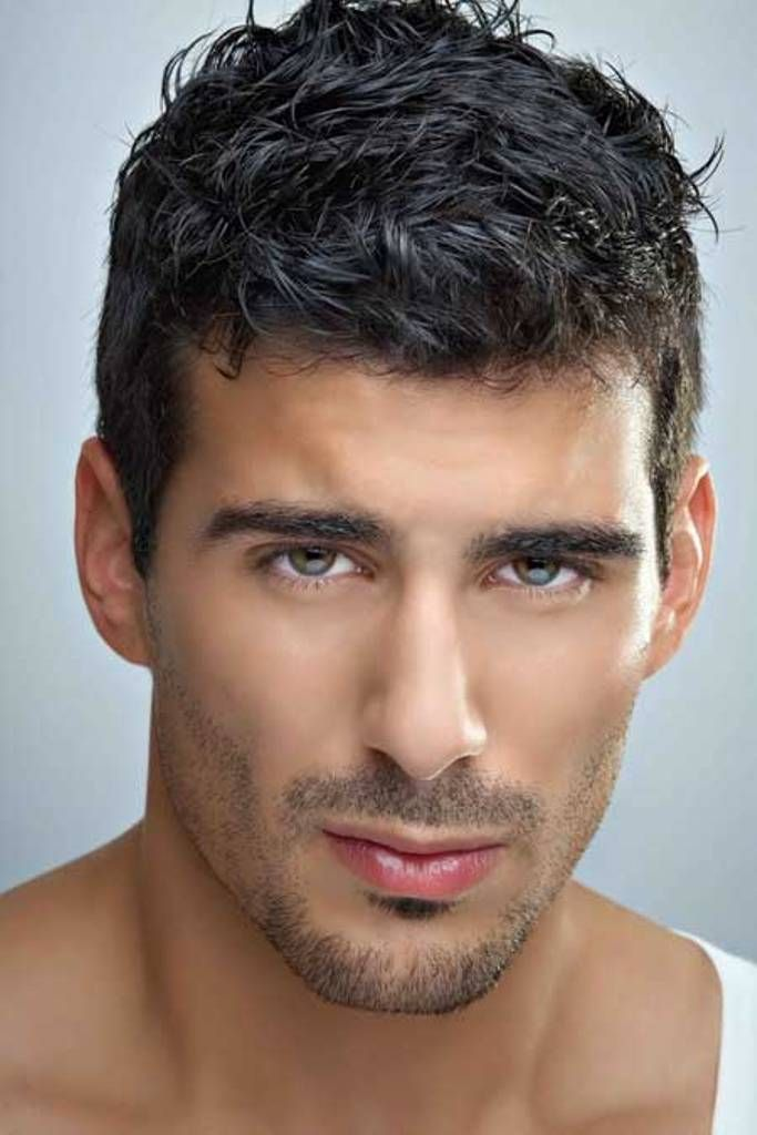 pompadour hairstyles for men curly