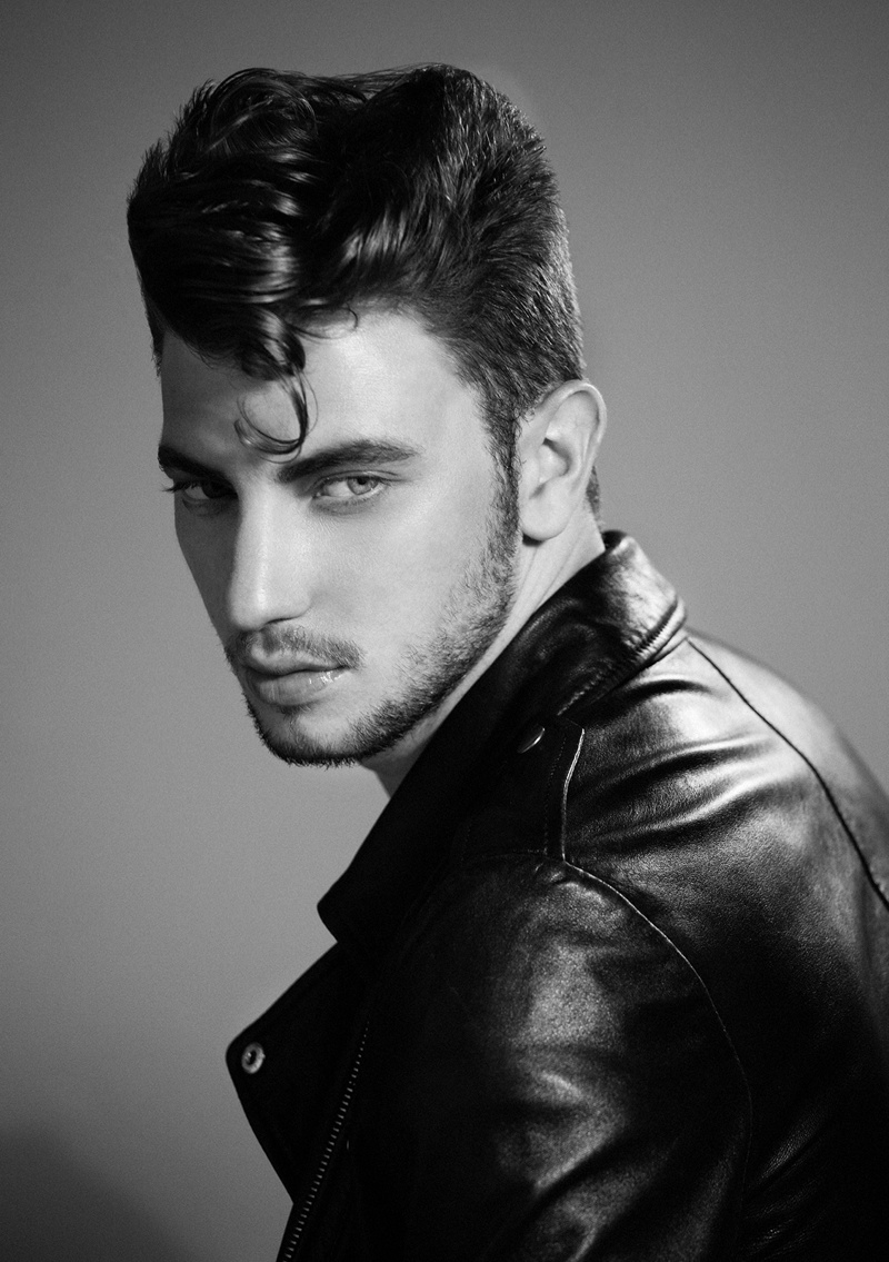 fashionable pompadour hairstyles for men