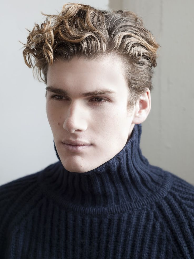 wavy hairstyles for men braided updo