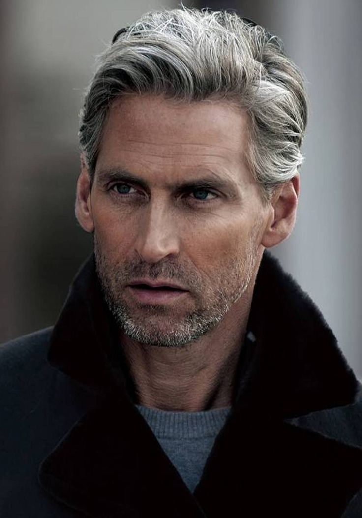 older mens hairstyles grey