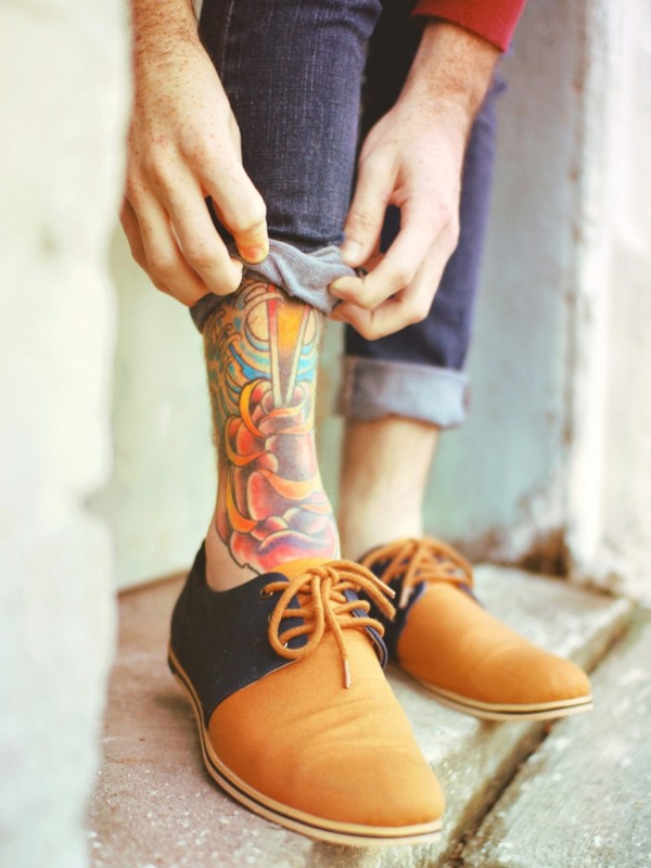 72 adorable ankle tattoos designs mens craze ForAnkle Tattoos On Men