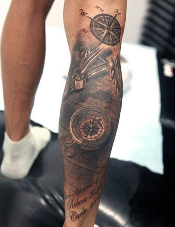 leg tattoos for men