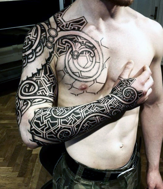 viking dragon tattoo