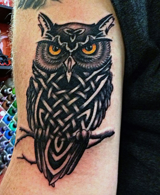 71 best owl tattoos that you will fall in love with mens