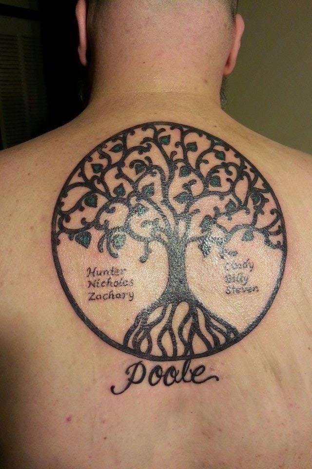 irish family tattoos