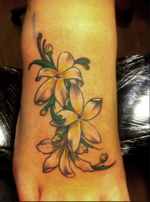 jasmine flower tattoos