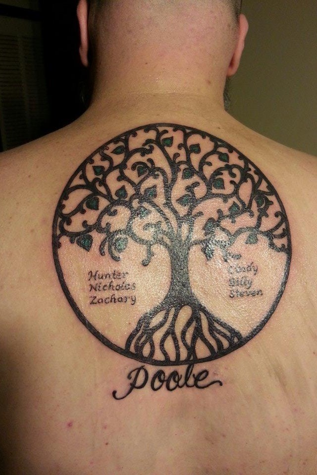 ash tree tattoos
