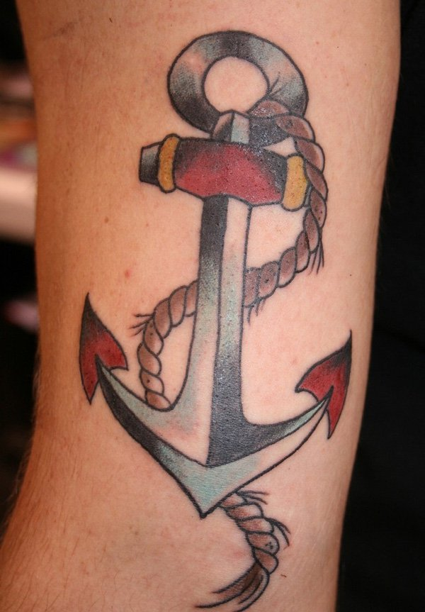traditional anchor tattoos