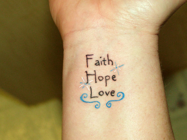 small tattoos faith