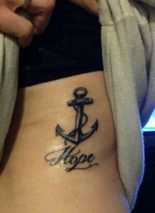 hope anchor tattoos