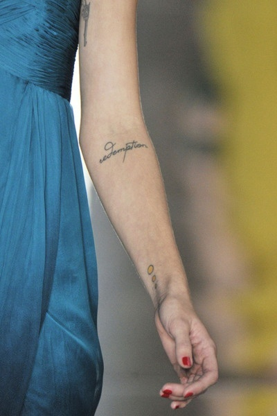 infinity tattoo placement