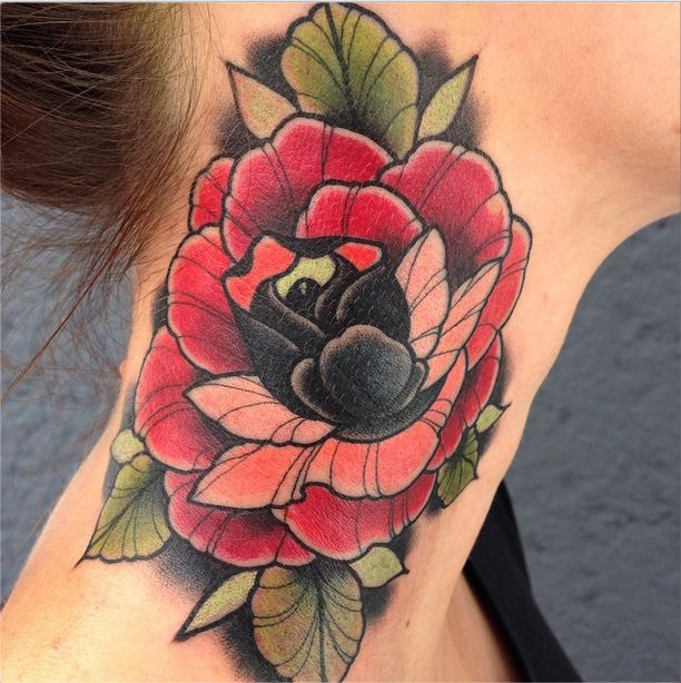 tatuajes rose tattoo