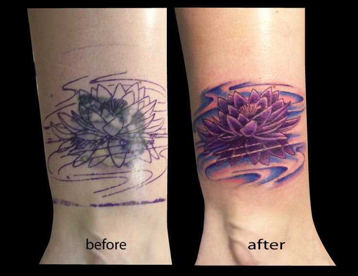 infinity tattoo cover up
