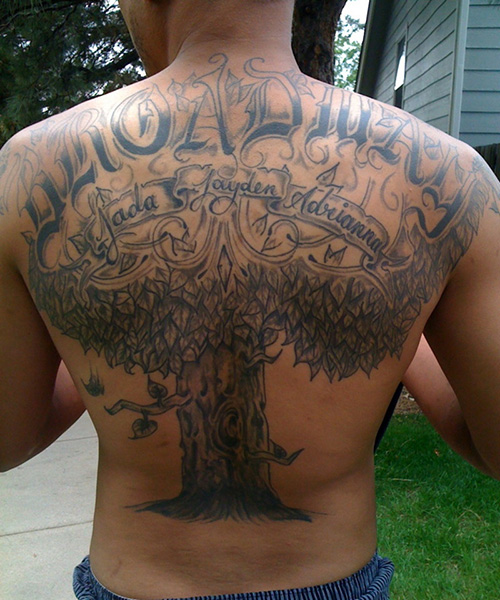 big family tattoos