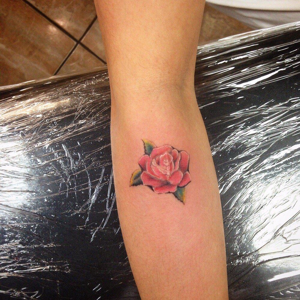 little rose tattoo