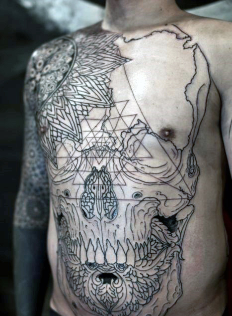 chest tattoos design