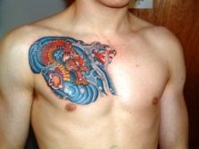 73 Chest Tattoo Design Ideas