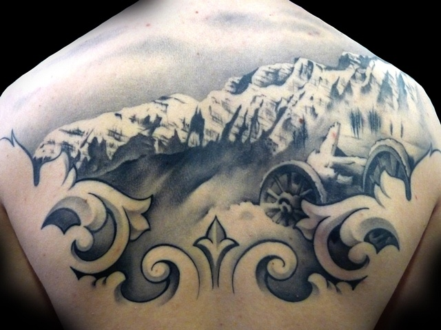 70 Breathtaking Mountain Tattoos Design
